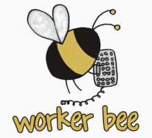 Worker Bee - IT/office by Corrie Kuipers