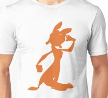 Daxter Silhouette - Orange Unisex T-Shirt