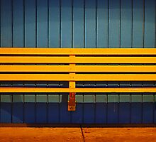 Yellow Bench by Erica Corr