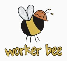 Worker Bee - builder/construction by Corrie Kuipers