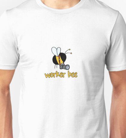 Worker Bee - photographer Unisex T-Shirt