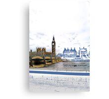 London Big Ben View Canvas Print
