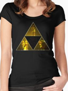 Legend of Zelda Triforce Women's Fitted Scoop T-Shirt