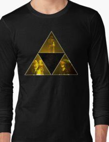 Legend of Zelda Triforce Long Sleeve T-Shirt