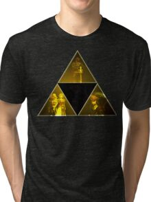 Legend of Zelda Triforce Tri-blend T-Shirt