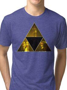 Legend of Zelda Triforce Tri-blend T-Shirt