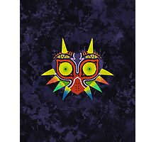 Majora's Mask Splatter (No Background) Photographic Print