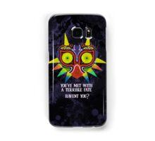 Majora's Mask Splatter (Quote No Background) Samsung Galaxy Case/Skin