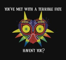 Majora's Mask Splatter (Quote No Background) T-Shirt