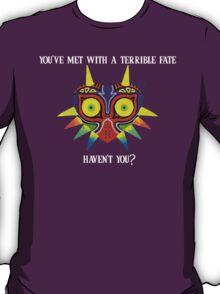 Majora's Mask Splatter (Quote No Background) T-Shirt