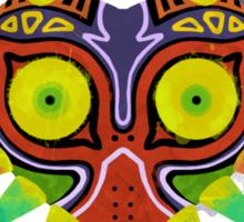 Majora's Mask Splatter (Quote No Background) Sticker