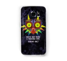 Majora's Mask Splatter (Quote) Samsung Galaxy Case/Skin