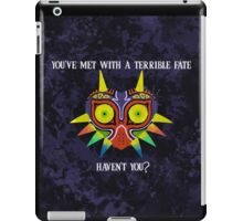 Majora's Mask Splatter (Quote) iPad Case/Skin