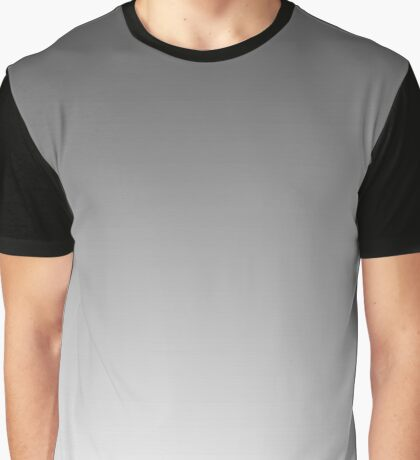 Gray Light Ombre Graphic T-Shirt