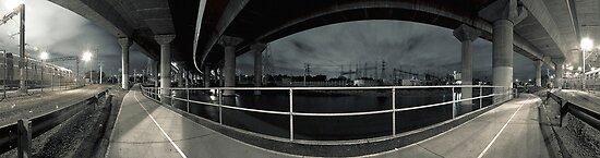 Moonee Ponds Creek by Marcel Lee