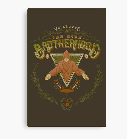 Dark Brotherhood Valenwood Canvas Print