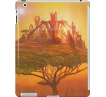 Sunset in the Double Star system in Carina constellation iPad Case/Skin