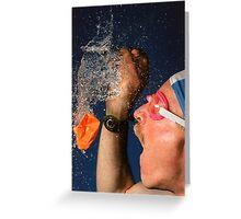 Waterburst Greeting Card