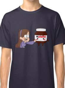 Gravity Falls - Mabel and Nutella Classic T-Shirt