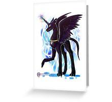 vincent the unidragon Greeting Card