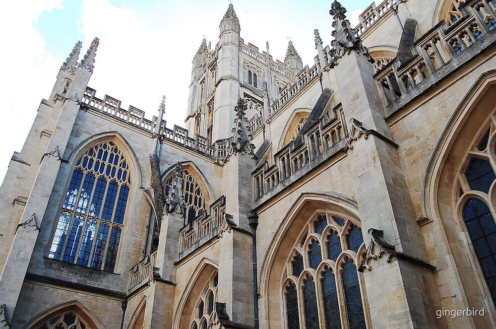 Bath Abbey by gingerbird
