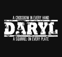 Daryl Dixon (White Text) by GreenGamer