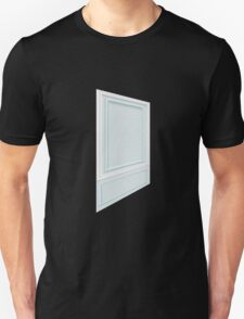 Glitch Homes Wallpaper babyblue molding left T-Shirt