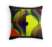 ...Curvature... Throw Pillow