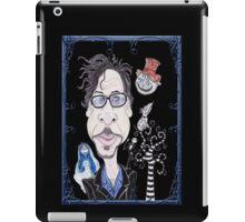 Dark Gothic Fantasy Movies Caricature Drawing iPad Case/Skin