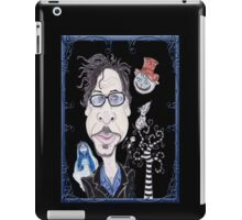 Dark Gothic Fantasy Movies Caricature Drawing iPad Case/Skin