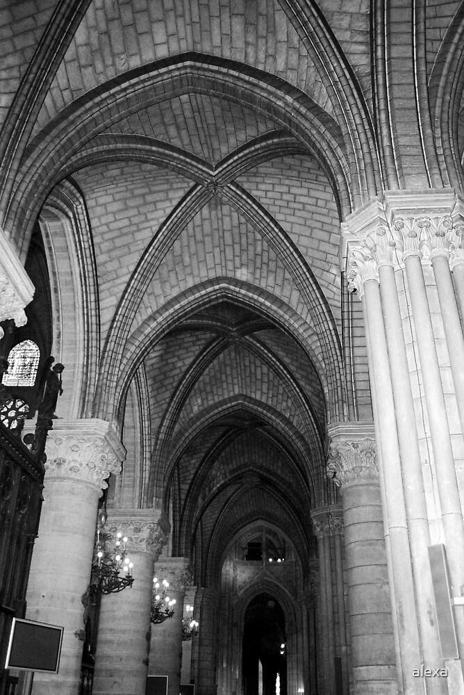 Inside Notre Dame by alexa