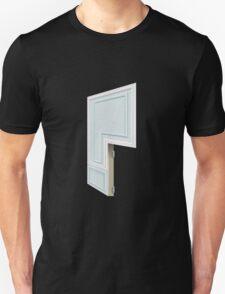 Glitch Homes Wallpaper babyblue molding right divide T-Shirt