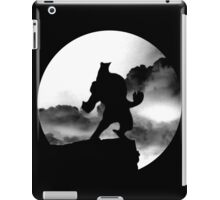 Lycan on the Edge iPad Case/Skin