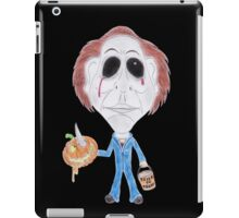 Horror Movie Serial Killer Caricature iPad Case/Skin
