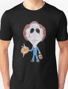 Horror Movie Serial Killer Caricature T-Shirt