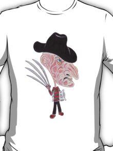 Horror Movie Caricature T-Shirt