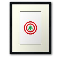 Captain Lebanon Framed Print