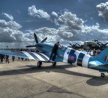 PM631 (Mk PRXIX) Reconnaissance Spitfire by Nigel Bangert