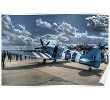 PM631 (Mk PRXIX) Reconnaissance Spitfire Poster