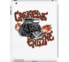 Creative Engine iPad Case/Skin