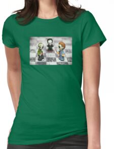 Horror Game Womens Fitted T-Shirt