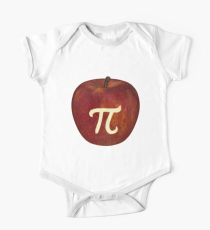 Apple Pi Bite One Piece - Short Sleeve