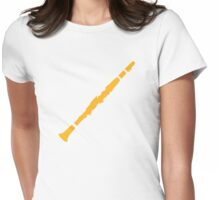 Clarinet Womens Fitted T-Shirt