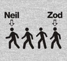 Neil before Zod! Baby Tee