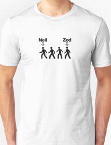 Neil before Zod! T-Shirt