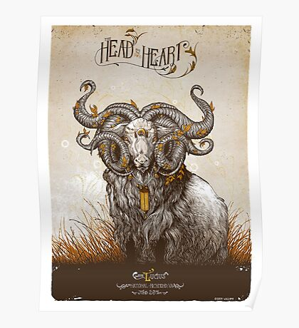 the head and the heart Poster