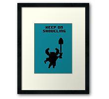 Shovel Knight  Framed Print