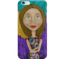 Mountain Girl iPhone Case/Skin