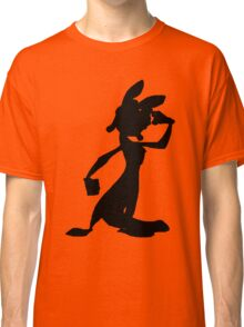 Daxter Silhouette - Black Classic T-Shirt