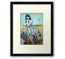 Camera Girl Framed Print